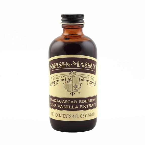 Nielsen-Massey Madagascar Bourbon Vanilla Extract, 4oz