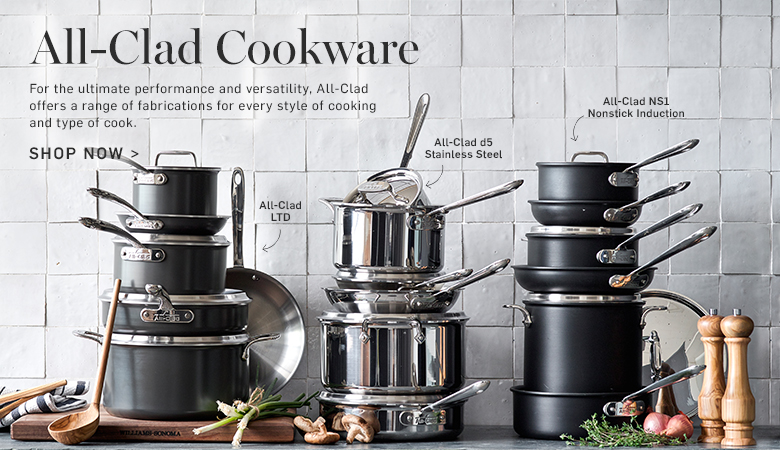 Shoe All-Clad Cookware