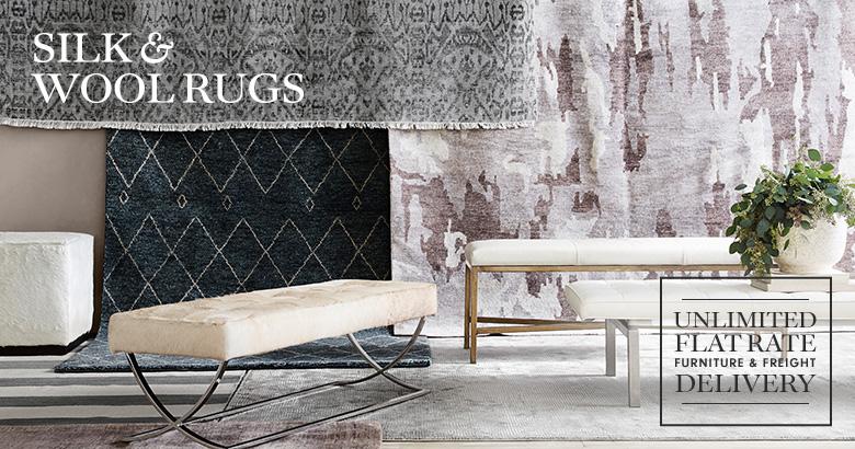 Silk & Wool Rugs