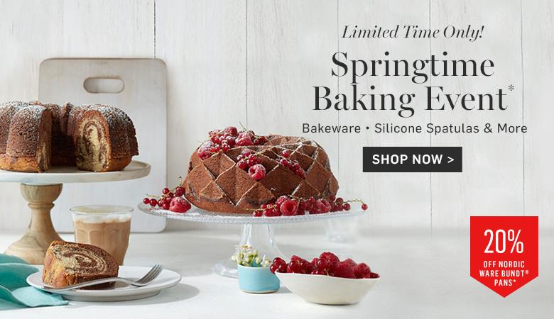 Springtime Baking Event