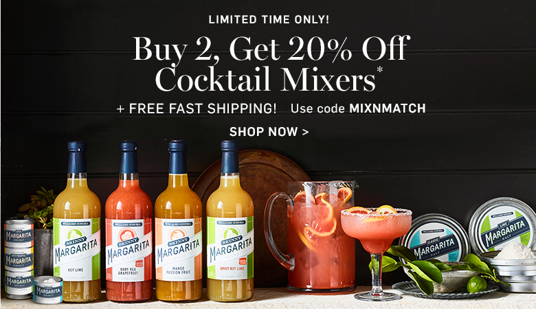 Buy 2, Get 20% Off Cocktail Mixers