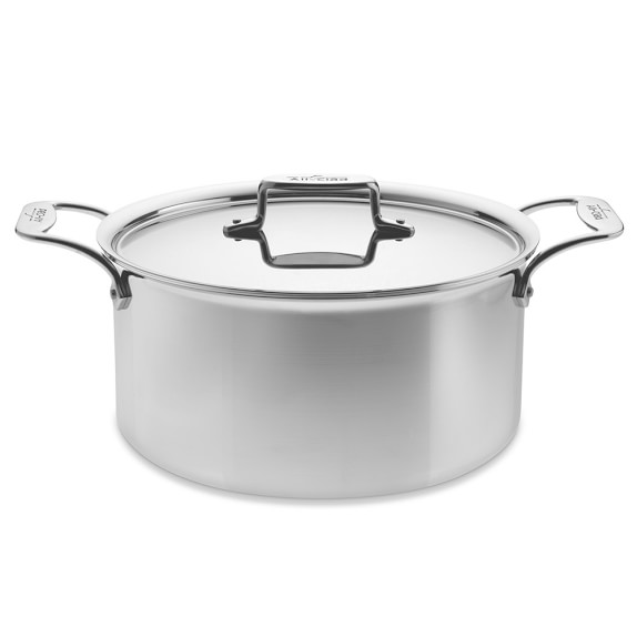 All-Clad d5 Stainless-Steel Stock Pot, 8-Qt