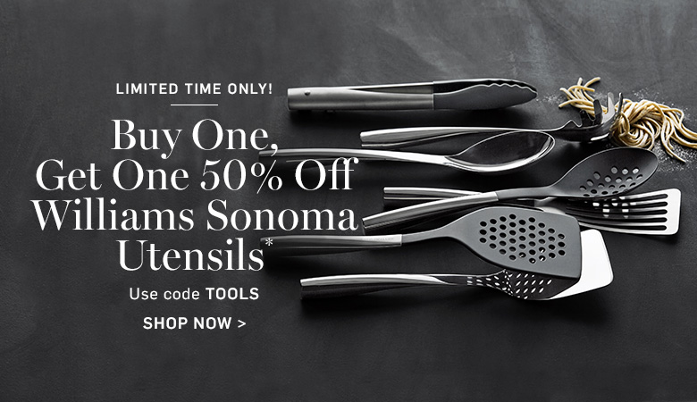 Buy One, Get One 50% Off Williams Sonoma Utensils