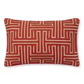 Colonial Greek Key Pillow Cover, 14