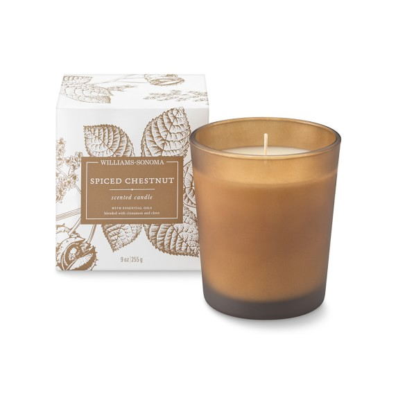 Williams Sonoma Spiced Chestnut Candle