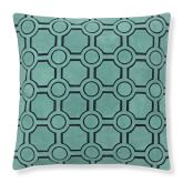 Suede Cutwork Pillow Cover, 20
