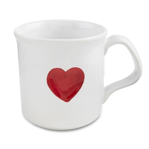 Valentine's Day Mugs, Set of 4