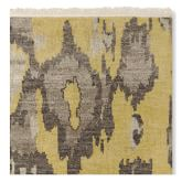 Andijan Ikat Hand Knotted Rug Swatch, 18