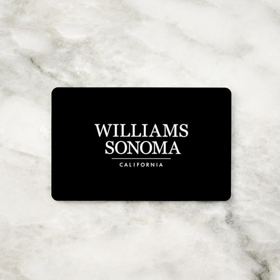 Williams Sonoma Gift Card, $25