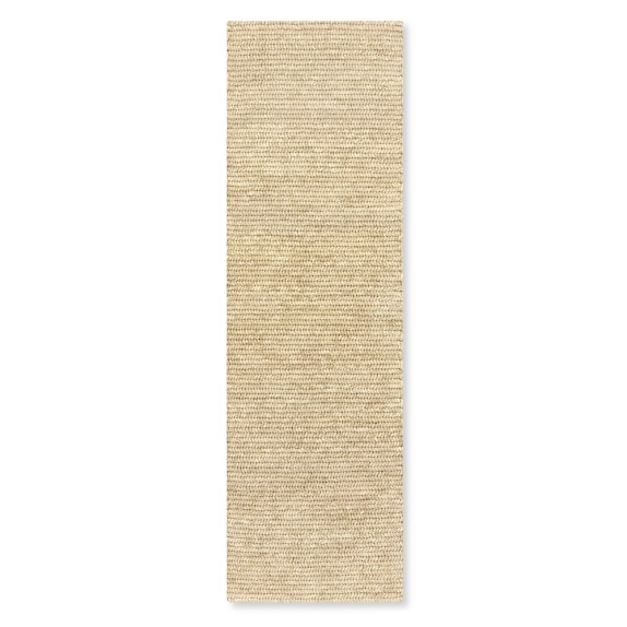 Abaca Rug, 3x10', Light