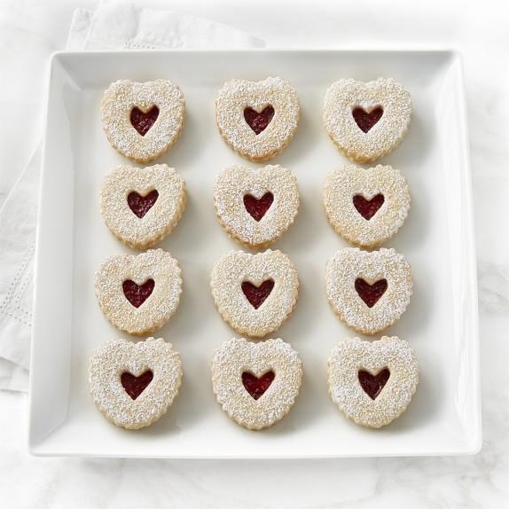 Vienna Cookie Company Heart Linzer Cookies