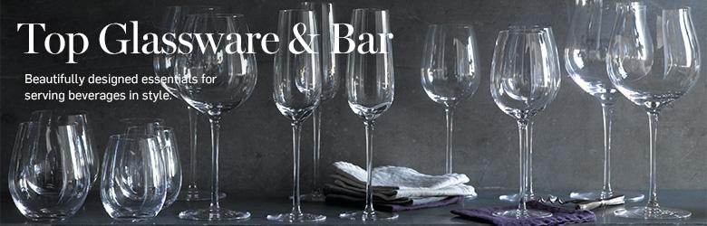 Top Glassware & Bar