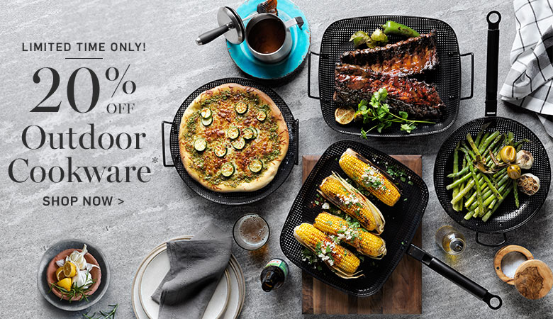 20% Off Outdoor Cookware