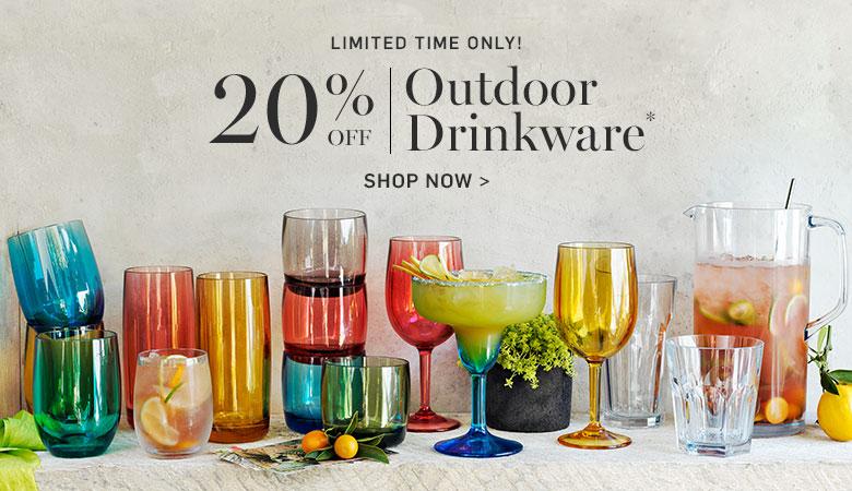 20% Off Outdoor Drinkware