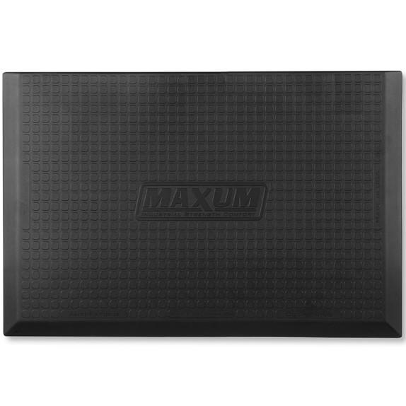 WellnessMats® Maxum Mat, 3' X 2', Black