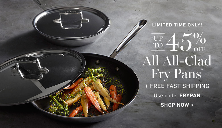 Up to 45% Off All All-Clad Fry Pans